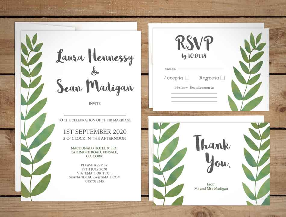 How Big Are Wedding Invitations: Let Your Big Day Stand Out