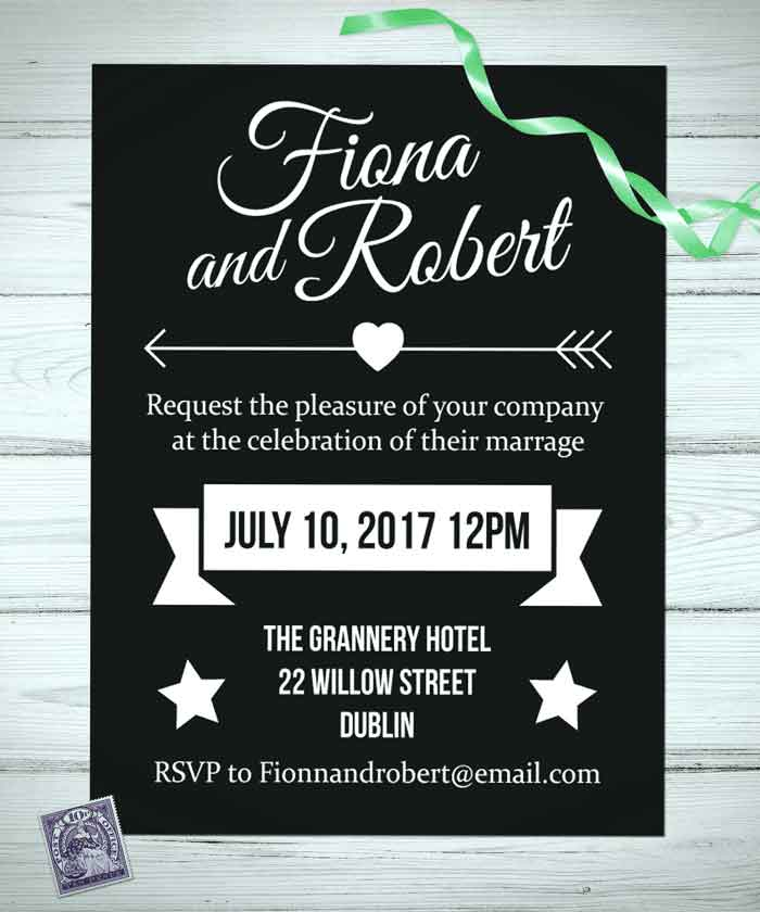 Wedding Invitations Ireland