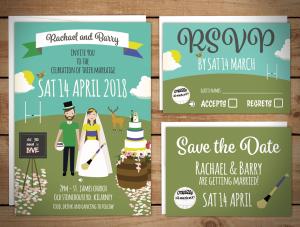 GAA Wedding Invitations
