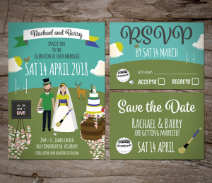 GAA Wedding Invitations