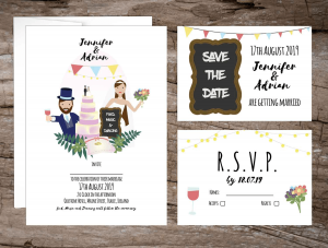 Alternative Wedding Invitations