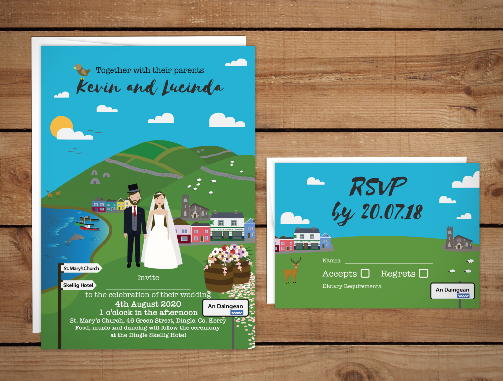 Dingle Wedding Invitations