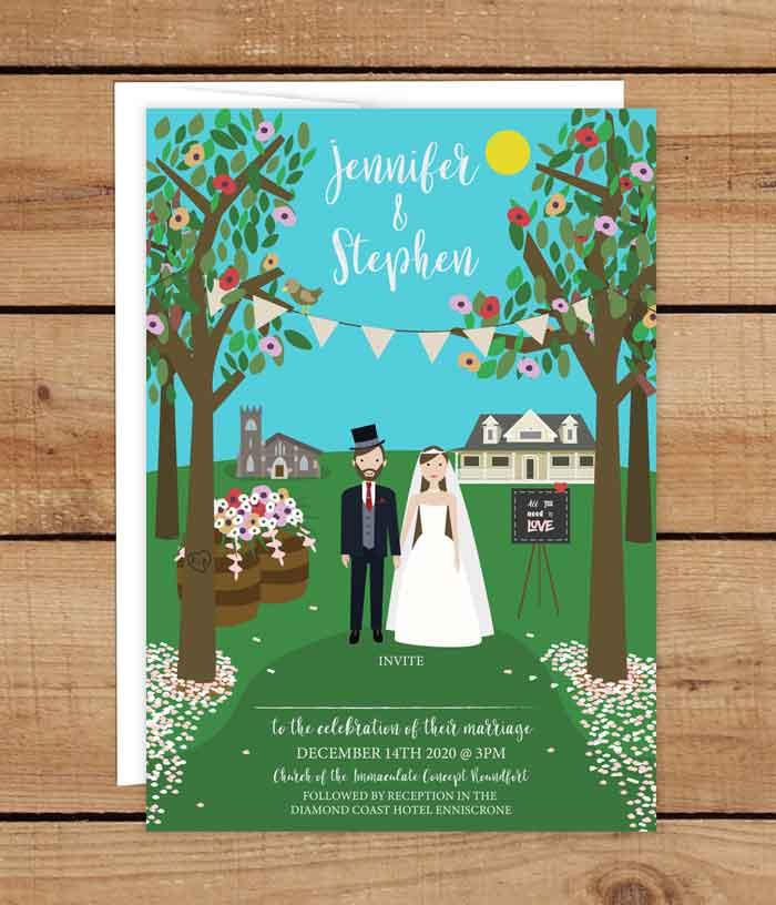 Wedding Invitations Ireland
