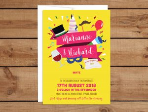 Party Wedding Invitations